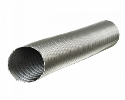Канал стальной Ø 125 мм (1 п.м.)