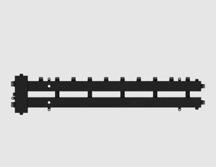 Гидравлический разделитель совмещенный с коллектором СЕВЕР-М6